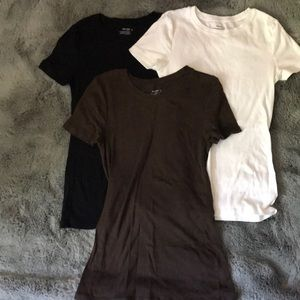 Old Navy bundle of 3 short sleeve tops size small